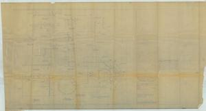 Primary view of object titled 'Foundation for Mark 50 Director & Modification to Top of Flag Plot [Preliminary Plan]'.