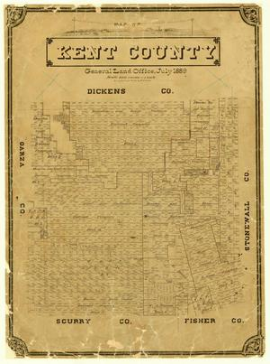 Map of Kent County