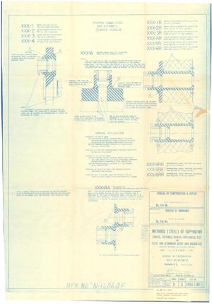 Primary view of object titled 'Methods (Steel) of Supporting Cables, Fixtures, Panels Appliances, Etc for Steel & Aluminum Dk.s & Bulkheads - sheet 25 of 39'.