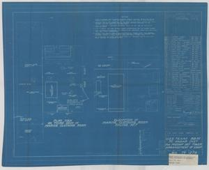Primary view of object titled 'Fire Control Radar Instructions for Midship Defense Tower Arrgt. of Equipment'.