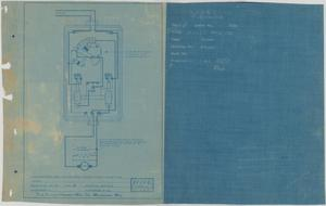 Primary view of object titled 'Compound Watertight Navy Starting Panel - for Turret Ventilationg'.
