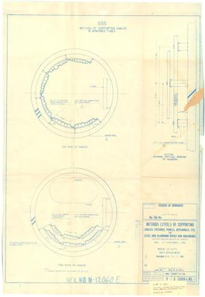 Primary view of object titled 'Supporting Cable in Armored Tubes - Methods (Steel) of Supporting Cables, Fixtures, Panels Appliances, Etc for Steel & Aluminum Dk.s & Bulkheads - 24 of 39'.