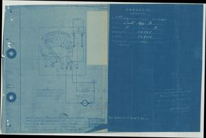 Primary view of object titled 'Electric Capstan - Connections for Navy Type Compound Controlling Panel - type A'.