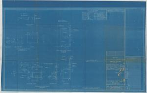 Primary view of object titled 'Supports for NMB-2 Recorder & Indicator - Amplifier Unit Chart House - Navigation Bridge Frs. 52 3/4 - 53'.