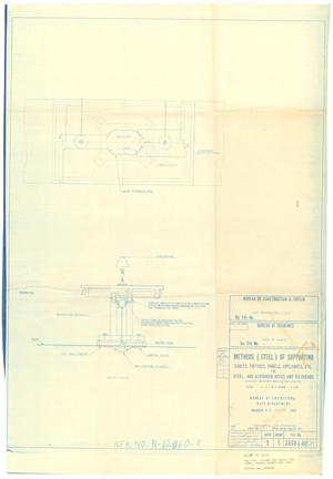 Primary view of object titled 'Table - Methods (Steel) of Supporting Cables, Fixtures, Panels Appliances, Etc for Steel & Aluminum Dk.s & Bulkheads - 37 of 39'.