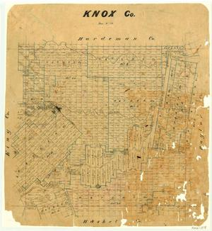 Primary view of object titled 'Knox County'.