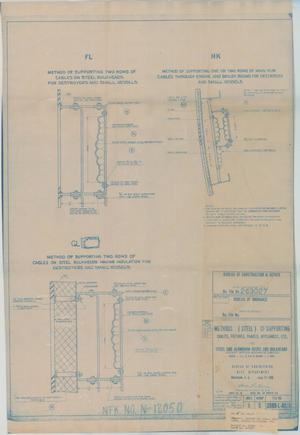 Primary view of object titled 'Methods (Steel) of Supporting Cables, Fixtures, Panels Appliances, Etc for Steel & Aluminum Dk.s & Bulkheads, 9 of 39'.