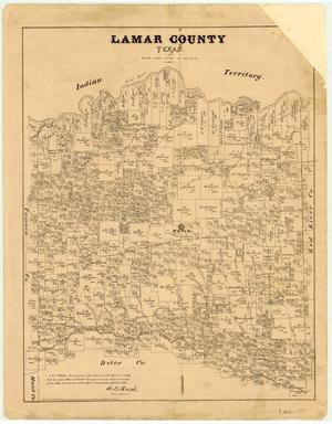 Primary view of object titled 'Lamar County'.
