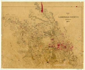 Primary view of object titled 'Lampasas County'.