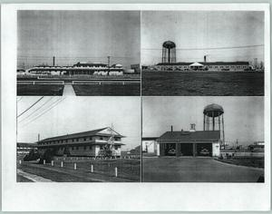 Primary view of object titled '[Four photographs of a building]'.