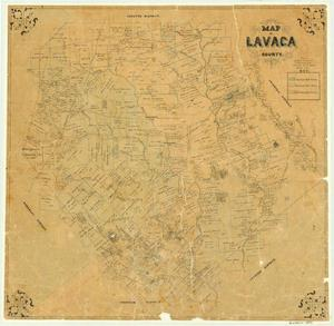 Primary view of object titled 'Lavaca County'.
