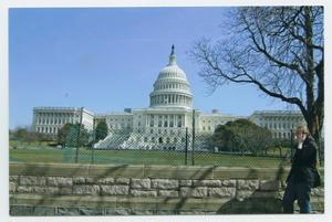 Primary view of object titled '[Photograph of the United States Capitol]'.
