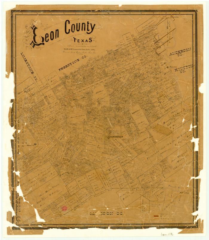 Leon County The Portal To Texas History