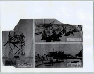 Primary view of object titled '[Three Photographs of Soldiers During WWII]'.