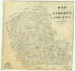Primary view of object titled 'Liberty County'.