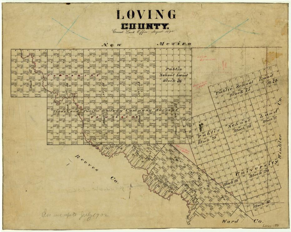 the history of the general lands office of texas Historical maps of texas  (texas beyond history) land grants and political divisions, 1821-1836 (180k)  texas general land office - maps.