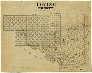Primary view of object titled 'Loving County'.