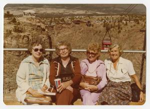 Primary view of object titled '[Helen Snapp and Friends at Royal Gorge]'.