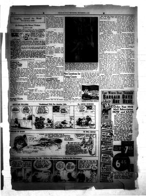 Primary view of object titled 'The Graham Daily Reporter (Graham, Tex.), Vol. [8], No. [84], Ed. 1 Monday, December 8, 1941'.