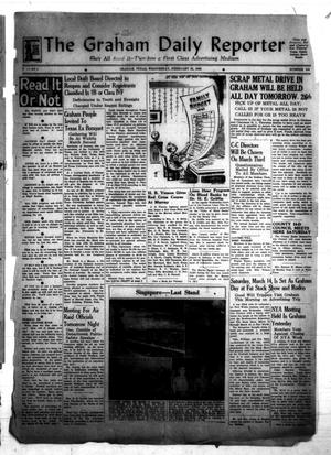 Primary view of object titled 'The Graham Daily Reporter (Graham, Tex.), Vol. 8, No. 154, Ed. 1 Wednesday, February 25, 1942'.