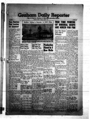 Primary view of object titled 'Graham Daily Reporter (Graham, Tex.), Vol. 7, No. 236, Ed. 1 Tuesday, June 3, 1941'.