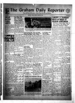 Primary view of object titled 'The Graham Daily Reporter (Graham, Tex.), Vol. 8, No. 168, Ed. 1 Friday, March 13, 1942'.