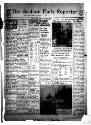Primary view of object titled 'The Graham Daily Reporter (Graham, Tex.), Vol. 8, No. 153, Ed. 1 Tuesday, February 24, 1942'.