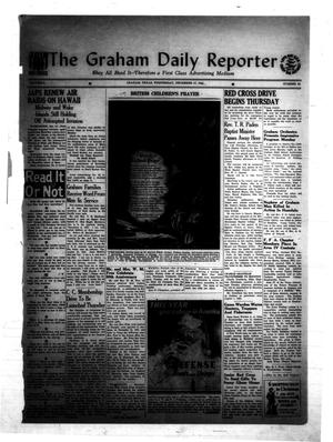 Primary view of object titled 'The Graham Daily Reporter (Graham, Tex.), Vol. 8, No. 93, Ed. 1 Wednesday, December 17, 1941'.