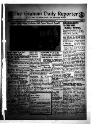 Primary view of object titled 'The Graham Daily Reporter (Graham, Tex.), Vol. 8, No. 90, Ed. 1 Monday, December 15, 1941'.