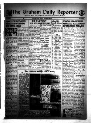 Primary view of object titled 'The Graham Daily Reporter (Graham, Tex.), Vol. 8, No. 95, Ed. 1 Friday, December 19, 1941'.
