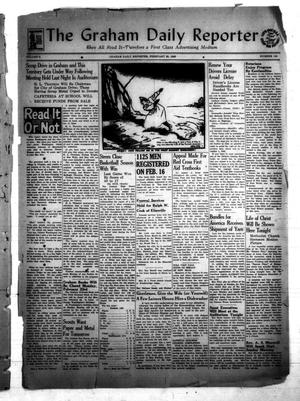 Primary view of object titled 'The Graham Daily Reporter (Graham, Tex.), Vol. 8, No. 150, Ed. 1 Friday, February 20, 1942'.