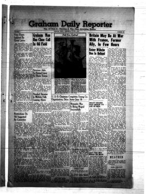 Primary view of object titled 'Graham Daily Reporter (Graham, Tex.), Vol. 7, No. 237, Ed. 1 Wednesday, June 4, 1941'.
