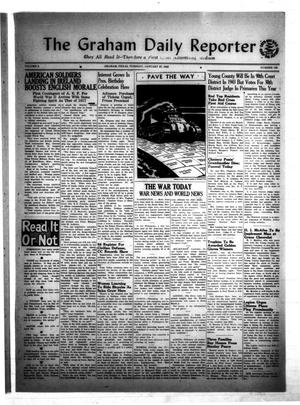 Primary view of object titled 'The Graham Daily Reporter (Graham, Tex.), Vol. 8, No. 128, Ed. 1 Tuesday, January 27, 1942'.