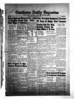 Primary view of object titled 'Graham Daily Reporter (Graham, Tex.), Vol. 7, No. 293, Ed. 1 Friday, August 8, 1941'.
