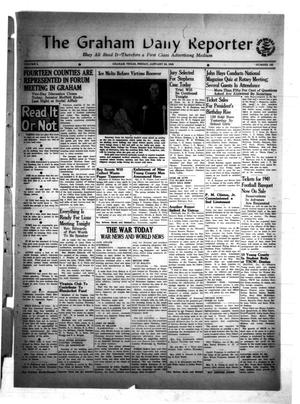 Primary view of object titled 'The Graham Daily Reporter (Graham, Tex.), Vol. 8, No. 125, Ed. 1 Friday, January 23, 1942'.