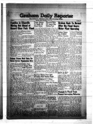 Primary view of object titled 'Graham Daily Reporter (Graham, Tex.), Vol. 7, No. 243, Ed. 1 Wednesday, June 11, 1941'.