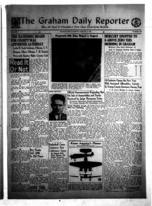 Primary view of object titled 'The Graham Daily Reporter (Graham, Tex.), Vol. 8, No. 109, Ed. 1 Monday, January 5, 1942'.
