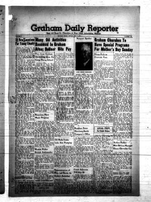 Primary view of object titled 'Graham Daily Reporter (Graham, Tex.), Vol. 7, No. 215, Ed. 1 Friday, May 9, 1941'.