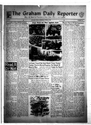Primary view of object titled 'The Graham Daily Reporter (Graham, Tex.), Vol. 8, No. 161, Ed. 1 Thursday, March 5, 1942'.