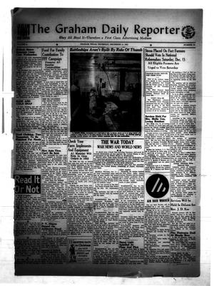 Primary view of object titled 'The Graham Daily Reporter (Graham, Tex.), Vol. 8, No. 88, Ed. 1 Thursday, December 11, 1941'.