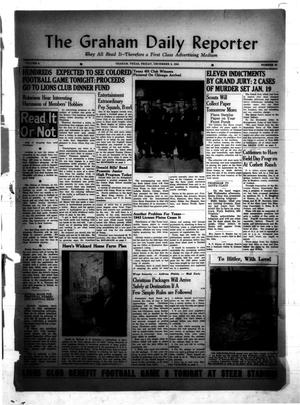 Primary view of object titled 'The Graham Daily Reporter (Graham, Tex.), Vol. 8, No. 83, Ed. 1 Friday, December 5, 1941'.