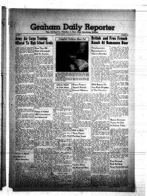 Primary view of object titled 'Graham Daily Reporter (Graham, Tex.), Vol. 7, No. 246, Ed. 1 Saturday, June 14, 1941'.