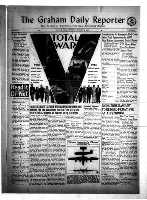 Primary view of object titled 'The Graham Daily Reporter (Graham, Tex.), Vol. 8, No. 124, Ed. 1 Thursday, January 22, 1942'.