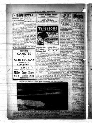 Primary view of object titled 'Graham Daily Reporter (Graham, Tex.), Vol. [7], No. [214], Ed. 1 Thursday, May 8, 1941'.