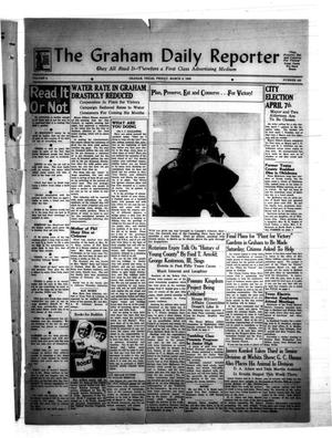 Primary view of object titled 'The Graham Daily Reporter (Graham, Tex.), Vol. 8, No. 162, Ed. 1 Friday, March 6, 1942'.