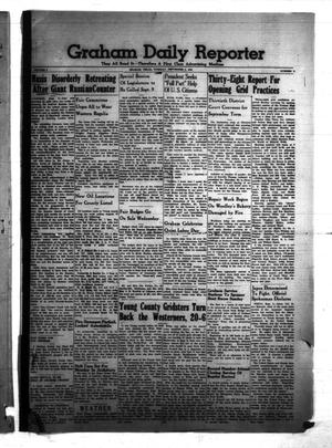 Primary view of object titled 'Graham Daily Reporter (Graham, Tex.), Vol. 8, No. 2, Ed. 1 Tuesday, September 2, 1941'.