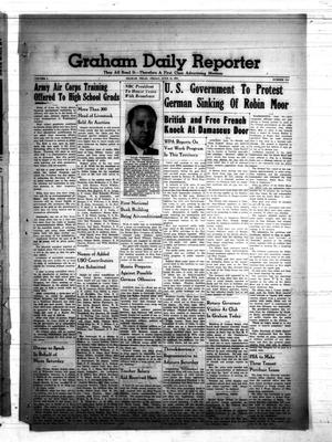 Primary view of object titled 'Graham Daily Reporter (Graham, Tex.), Vol. 7, No. 245, Ed. 1 Friday, June 13, 1941'.