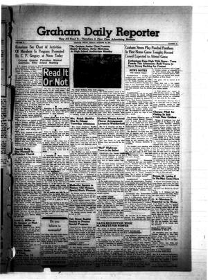 Primary view of object titled 'Graham Daily Reporter (Graham, Tex.), Vol. 8, No. 35, Ed. 1 Friday, October 10, 1941'.