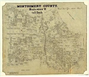 Primary view of object titled 'Montgomery County'.