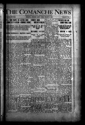 Primary view of object titled 'The Comanche News (Comanche, Tex.), Vol. 9, No. 3, Ed. 1 Thursday, February 6, 1908'.